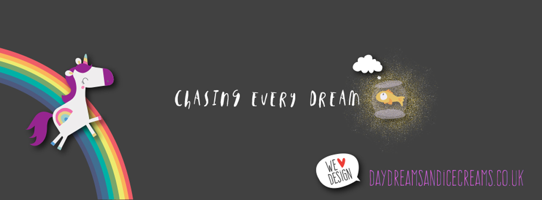 Chasing, Dreams, Daydreams, Ice Creams, Graphic, Design
